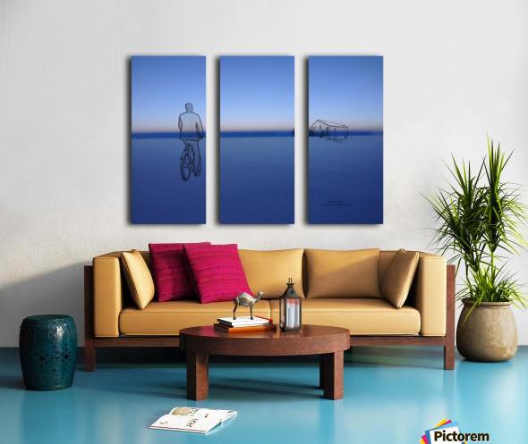Home Split Canvas print