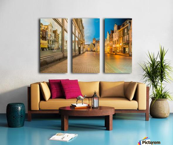 Wismar Day2Night Split Canvas print