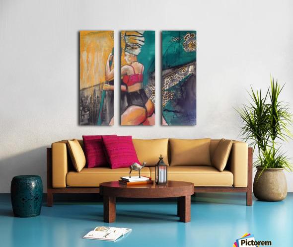 Hamam Split Canvas print