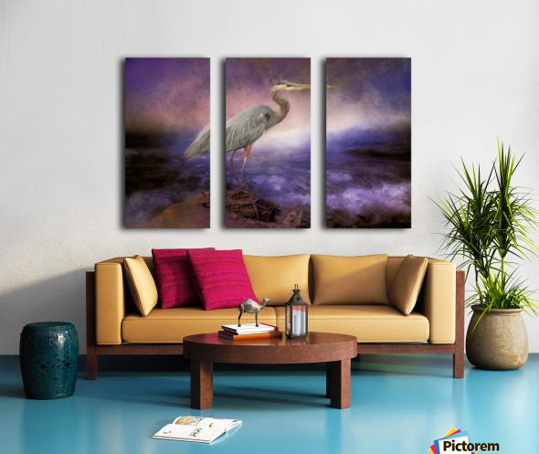 Waiting Split Canvas print