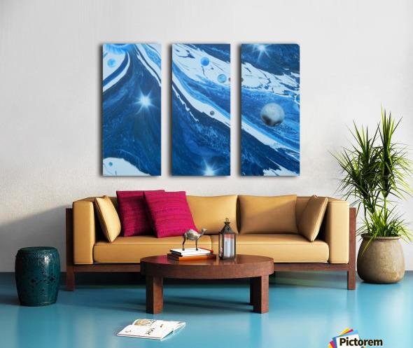 STAR MAKER Split Canvas print