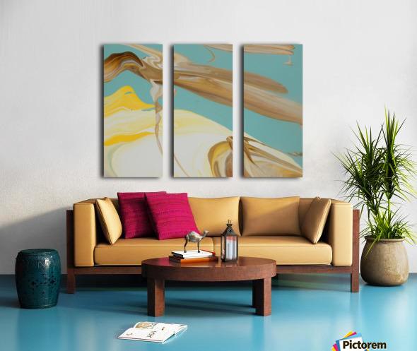 SUN BUBBLE Split Canvas print