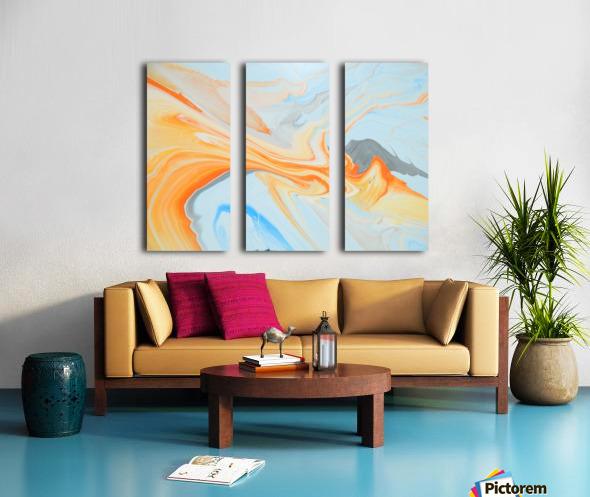 FIRESPEAR Split Canvas print