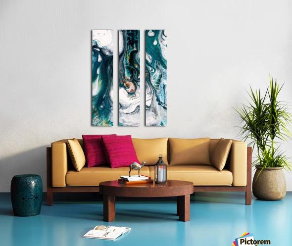 abst Split Canvas print