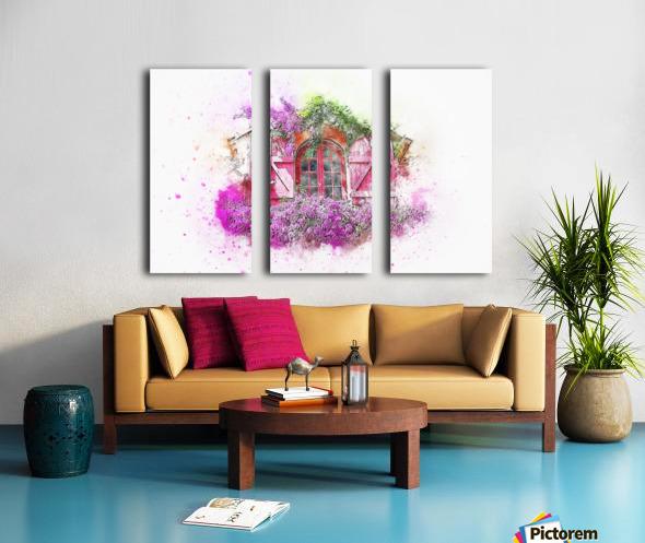 window Split Canvas print