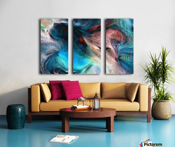 background4 Split Canvas print