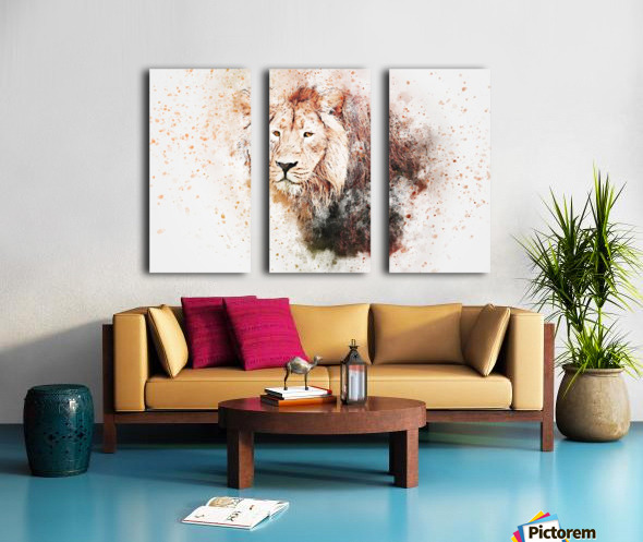 lionss Split Canvas print