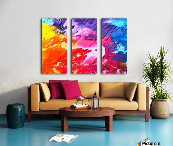 abstra Split Canvas print