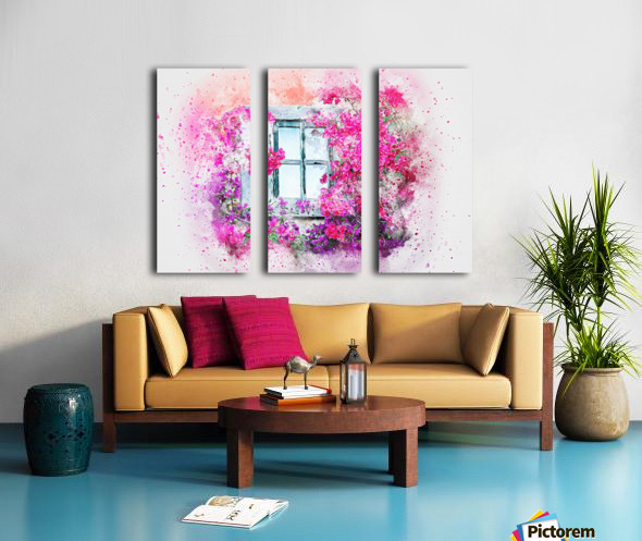 windows Split Canvas print