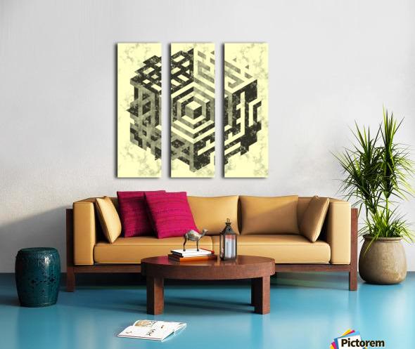 pattern Split Canvas print