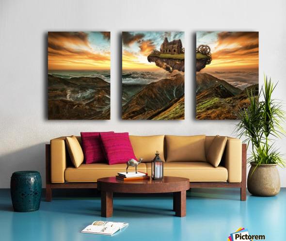 panorami Split Canvas print