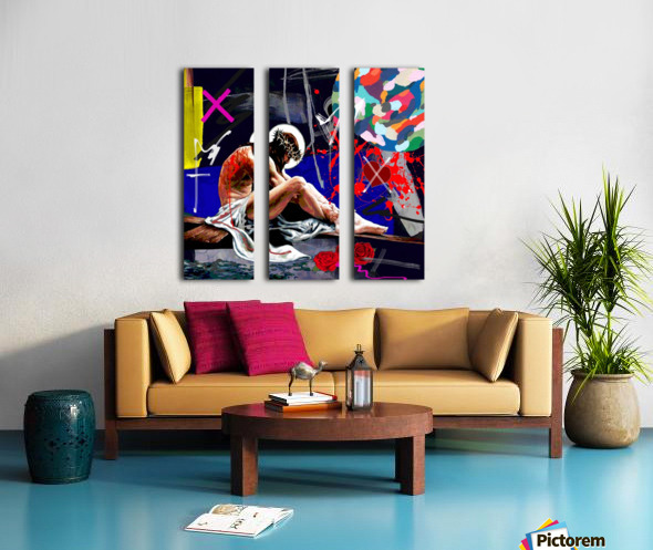 Christ X Split Canvas print