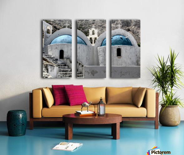 Landscape - Church Split Canvas print