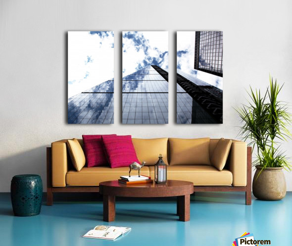 London City - Skyscraper Split Canvas print