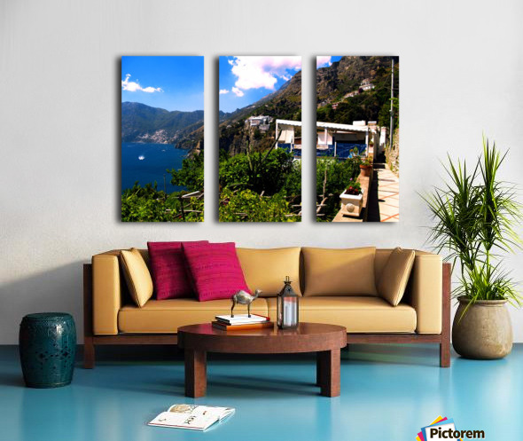 Amalfi Coast Landscape - Italy Split Canvas print