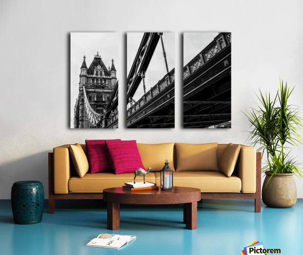 Tower Bridge Close up - London - Uk Split Canvas print