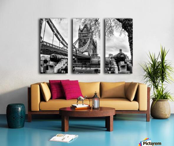 London Tower Bridge Split Canvas print