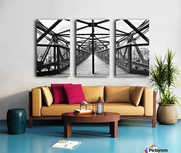 The Bridge - Spain Split Canvas print