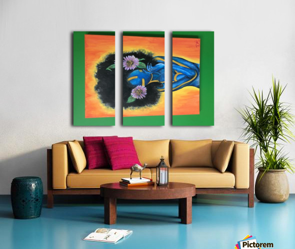 image Split Canvas print