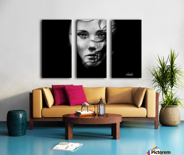 Shade Split Canvas print