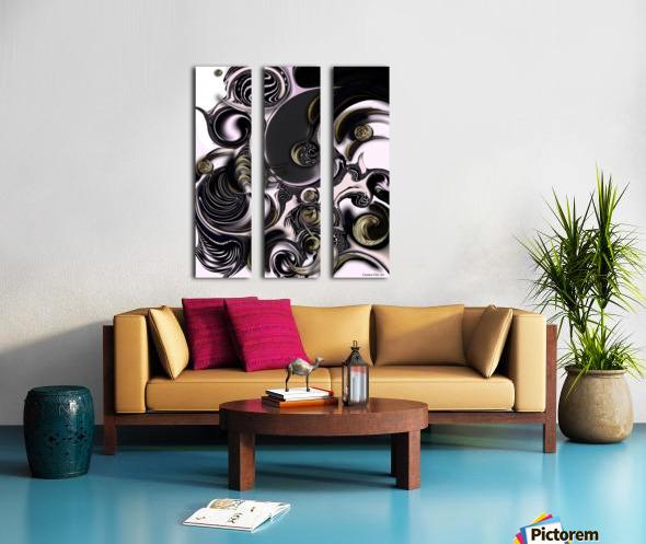 Reflecting Creation Split Canvas print