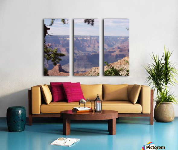 Grand Canyon Photo Split Canvas print