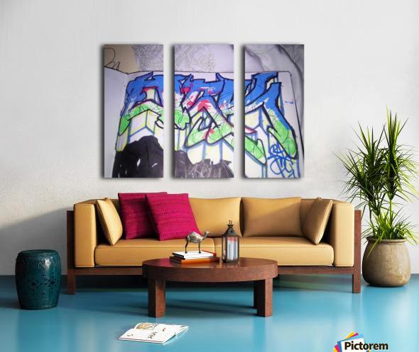 15175427852971446813630 Split Canvas print