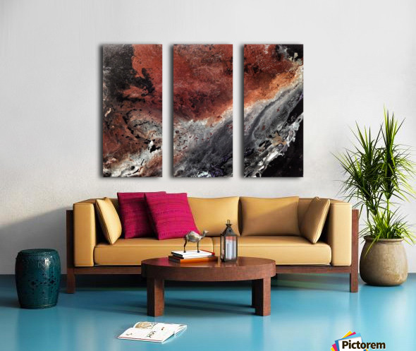 Cataclysm Split Canvas print