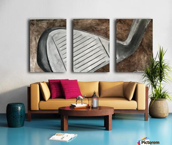 Golf Nouveau I Split Canvas print