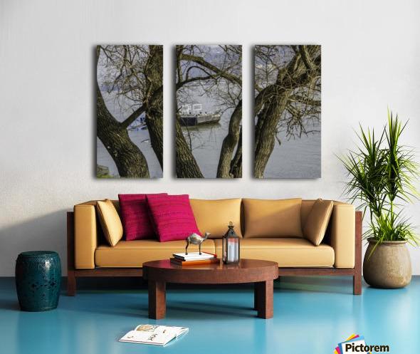 Looking Through Split Canvas print