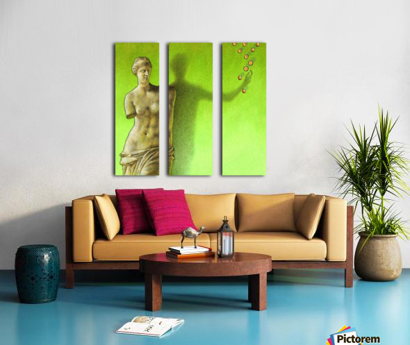 Grece Split Canvas print