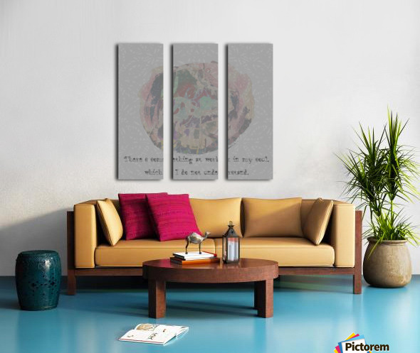 soul Split Canvas print