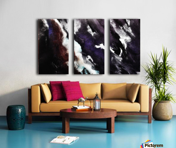 Odyssey Abstract Artwork Split Canvas print