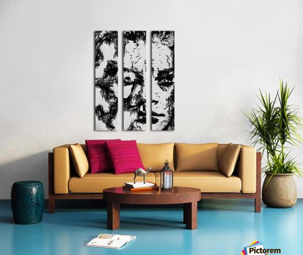 Consuming Split Canvas print