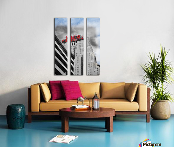 NewYorker Split Canvas print