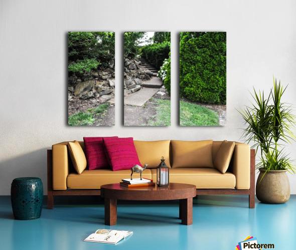 Enchanted Walkway Split Canvas print