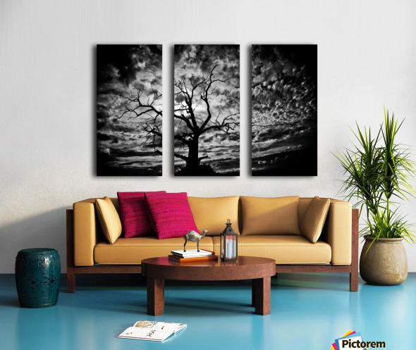 Spooky tree Split Canvas print