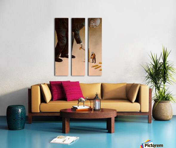 Cane Split Canvas print