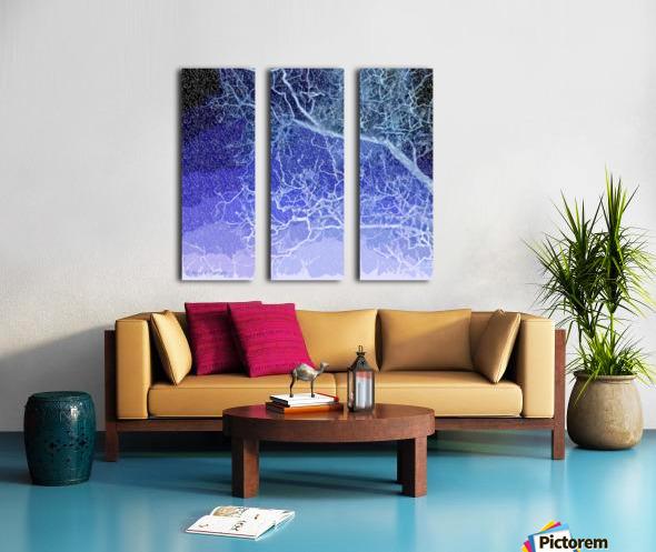 TreeBranches2 Split Canvas print