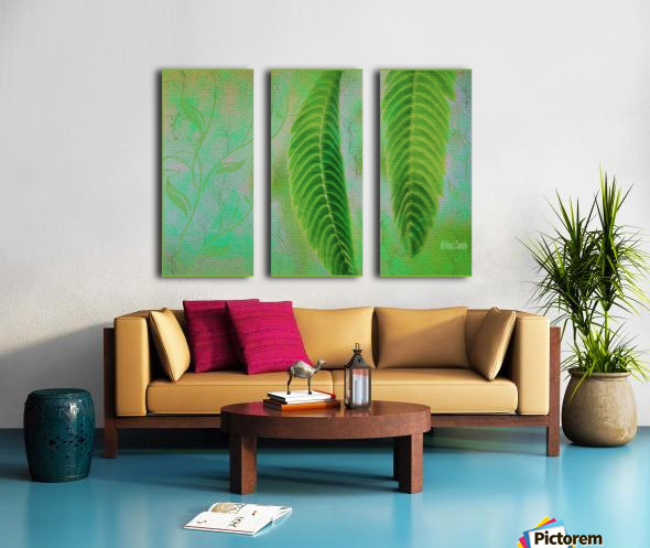 MINT Split Canvas print