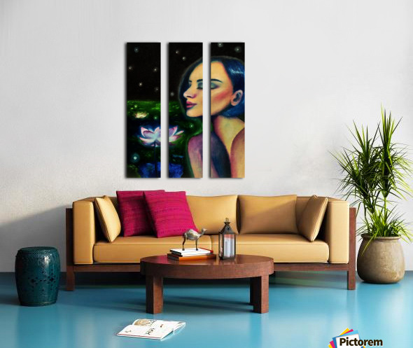 Nocturne Split Canvas print