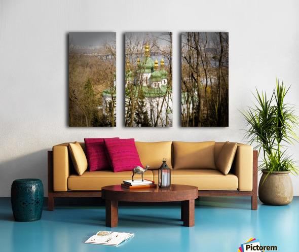 Eastern Orthodox Church in Kiev Split Canvas print
