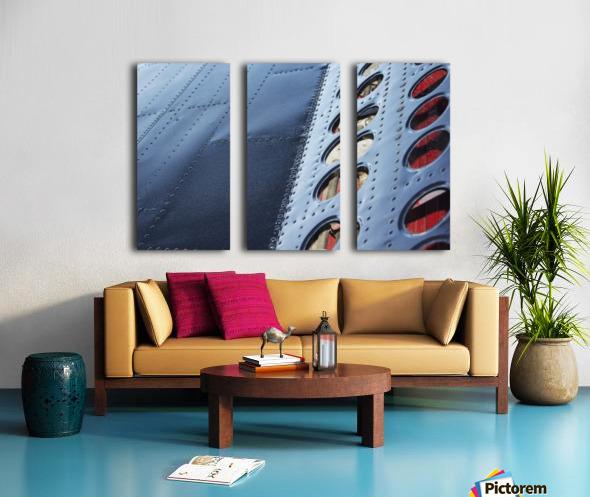 Flap Split Canvas print
