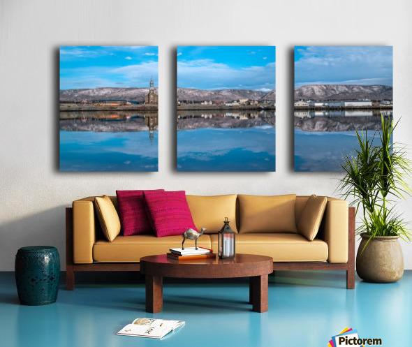 Cheticamp Skies Split Canvas print