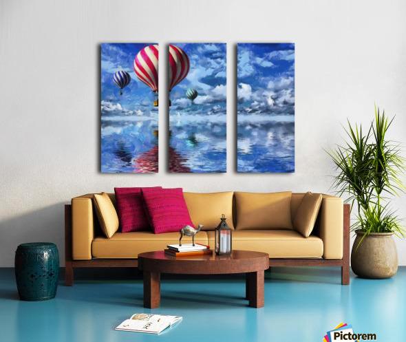 HC0250  Split Canvas print