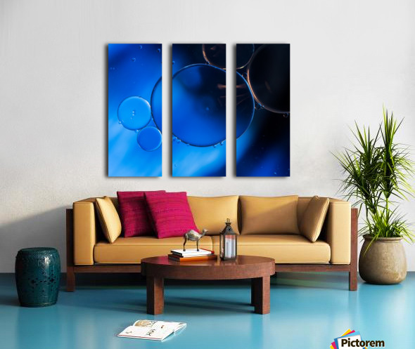 In Vitro Split Canvas print
