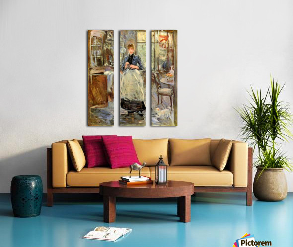 In the Dining Room Split Canvas print