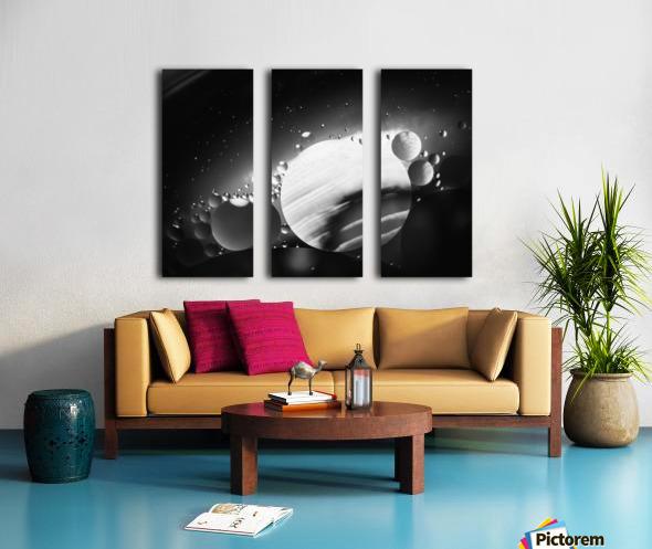 Micro Galaxy - Micro Galaxie Split Canvas print