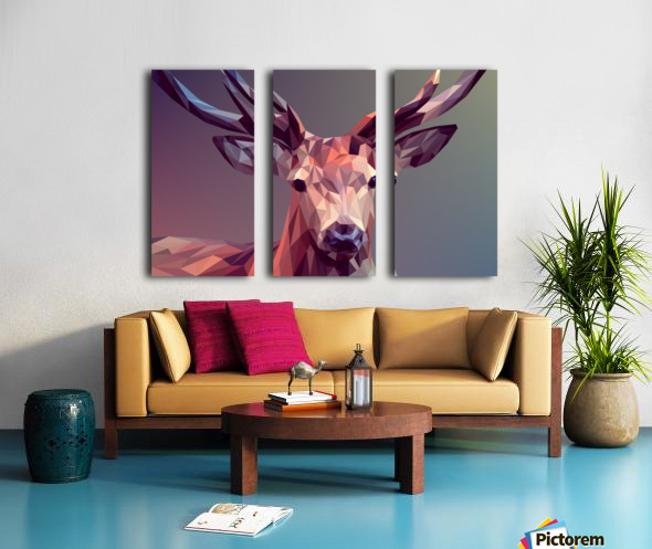 polycerf Split Canvas print