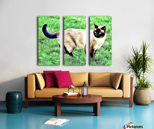 CAT3 Split Canvas print